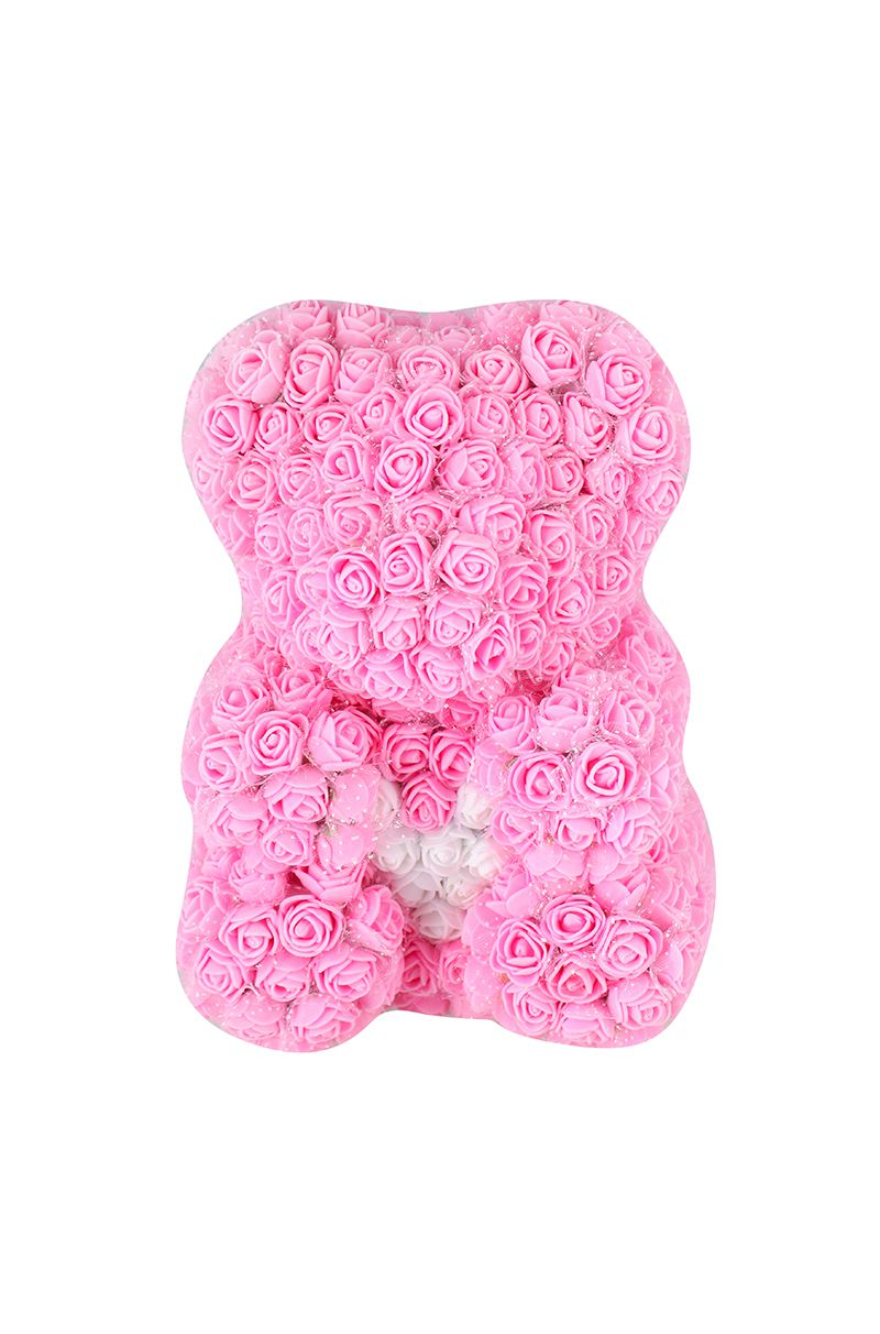Rose Bear Pink Glasnik Box medved od ruza